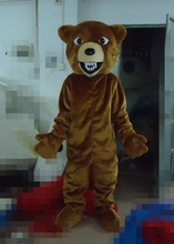 OISK fast design Cheap Fierce Grizzly Bear MASCOT Costume mascot character costumes EMS Free Shipping