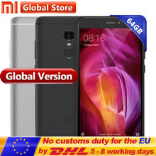 "Global Version Xiaomi Redmi Note 4 4GB 64GB ROM Mobile Phone Snapdragon S625 Octa Core 5.5"" FHD MIUI8 13.0MP Note4 Smartphone(China)"
