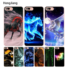 HongJiang Best Horses cell phone Cover case for iphone 6 4 4s 5 5s SE 5c 6 6s 7 8 plus X(China)