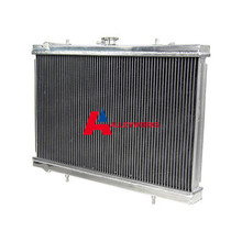 Fast delivery NEW Auto Cooling replacement parts 2 ROW Aluminum Radiator For Skyline R32 GTST RB20DET Manual MT High Capacity