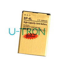 3030mAh BP-4L Gold Replacement Battery For Nokia E61i E63 E90 E90i 6650F N97 N97i E95 E71 E71x E72 E73 E75 E52 E55 Batteries