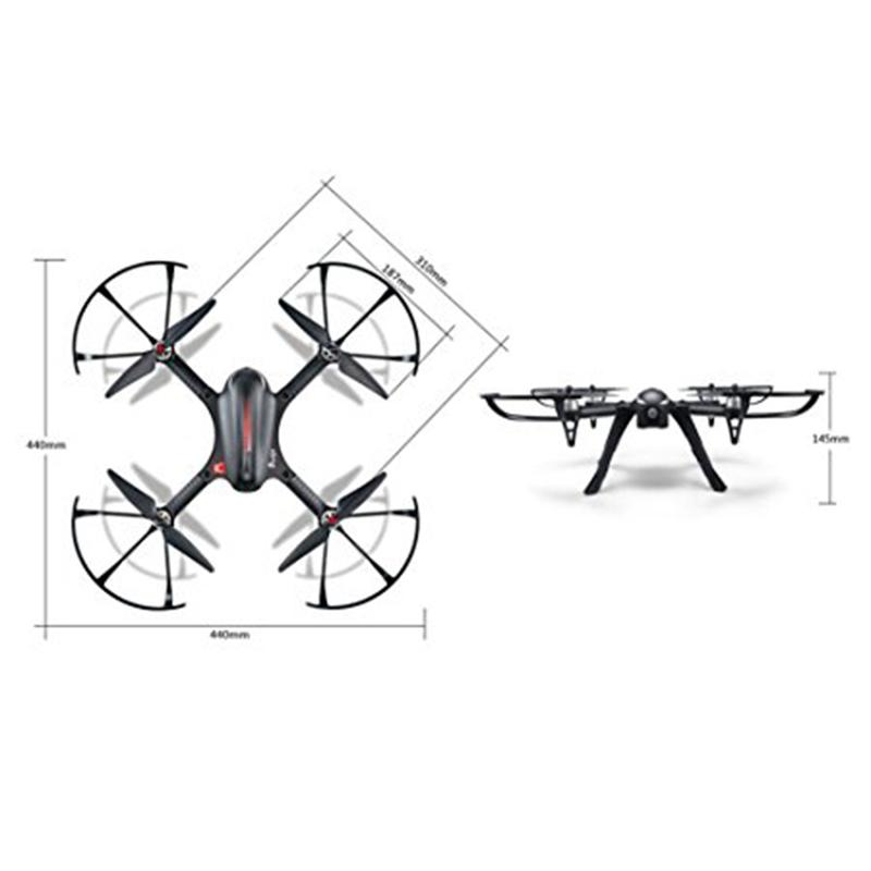 LeadingStar MJX B3 Bugs 3 Brushless RC Helicopter 80KM/H Remote Control Professional Drone can Add 4k Camera