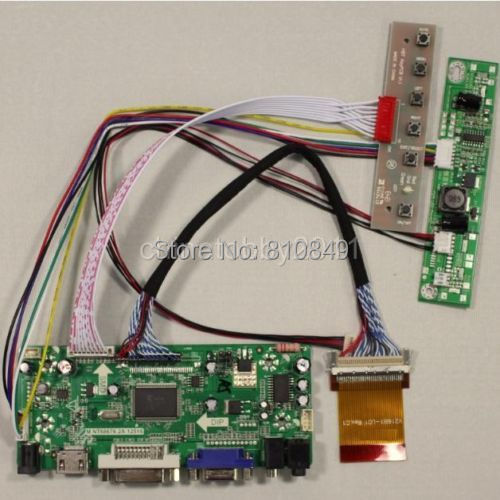 HDMI+DVI+VGA+Audio Controller board for LTM230HT05 23inch 1920*1080 Lcd Panel<br>