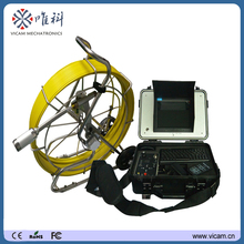 Battery operated 100m cable 512Hz transmitter pipeline inspection camera with DVR recording video and audio V8-3288T(China)