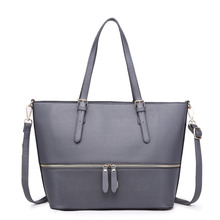 New fashion Miss Lulu Faux Leather big style bags Adjustable Handle Tote Bag Casual Tote Women hansbags(China)