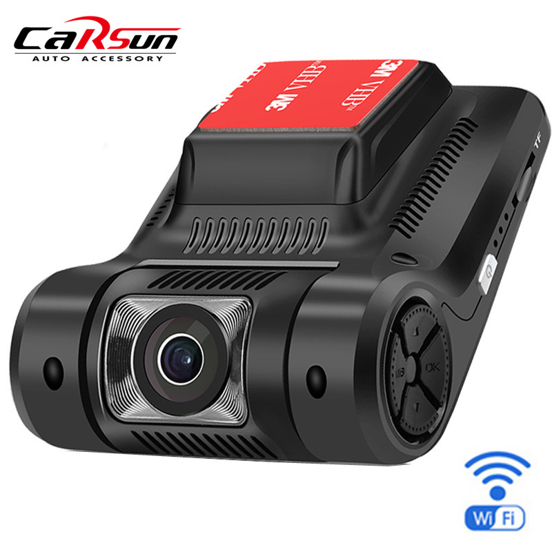 2.45 inch Russian Car DVR DVRS Registrator NOVATEK 96658 Sony IMX323 WiFi Car Video Recorder DashCam FHD 1080p Vehicle Black box(China)