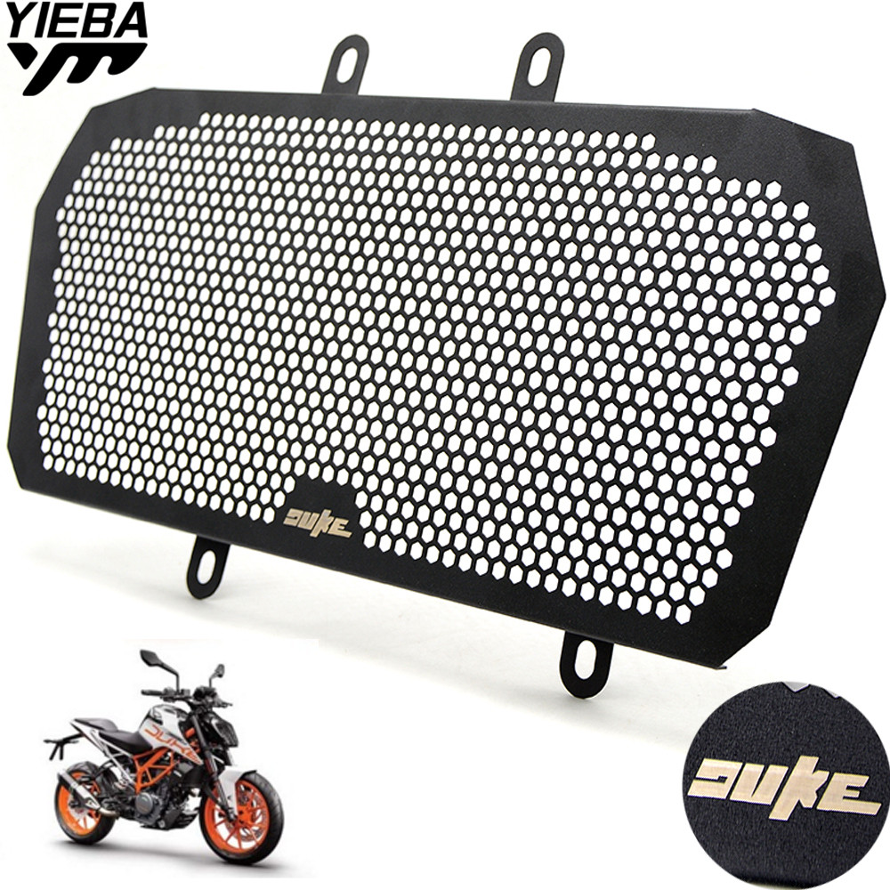 Motorcycle Stainless steel Radiator Grille Guard Cover For KTM DUKE390 2013-2016