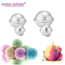 6pcs/pack Bath Bombs Metal Aluminum Alloy Bath Bomb Mold 3D Ball Sphere Shape DIY Bathing Tool Accessories Creative Mold(China)