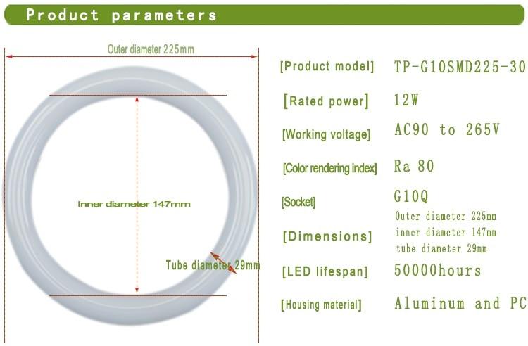 LED Circular Light- 2Parameters