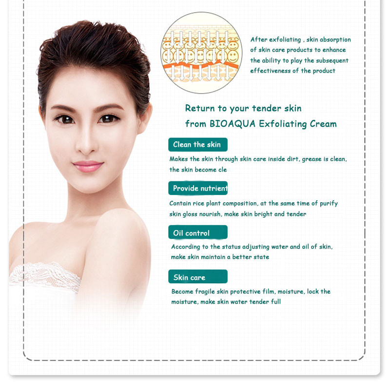 sdfsdf BIOAQUA Brand Skin Care 140g Facial Exfoliating Moisturizing Cream Shrink Pore Brightening Skin Oil-control Hydrating Cream08