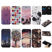 Cases Cover For Huawei P8 Lite Wallet Leather Flip Silicone Purse Book Cell Phone Coque Etui Capa For Huawei P8Lite 2017 Capinha(China)