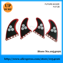 Future Quad Fins Fibreglass Fin SUP Surfboard Honeycomb Fins New Design Quilhas