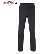 Seven7 Brand Wool Casual Business pants Fashion Comfort Suit Pants Men's Classic Business Pants exquisite Formal Pants 703B7696(China)