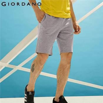 Giordano homens calções marca bermuda de algodão casuais mens shorts moda masculina calças curtas para os homens verão masculina de marca