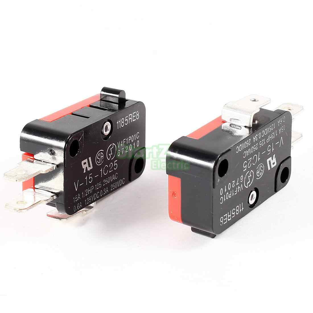 Detail Feedback Questions About 10pcs Lot Green Micro Switch No How To Wire Push Button 15 A 15a 250vac V 1c25 Spdt 1no 1nc