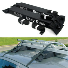 T15414a Pair Universal Auto Soft Car Roof Rack Carrier Luggage Easy Rack Load 60kgs Baggage Easy Fit Removable Free Shipping