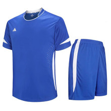 blue cheap blank football traning jersey top camisas de futebol wholesale soccer jerseys 2016 2017 uniform LD=5015(China)