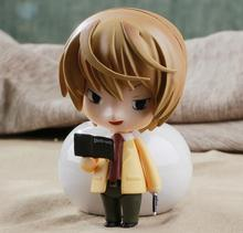 Anime Cute Nendoroid Death Note Yagami Light #12 PVC Action Figure Collectible Model Toy 10CM KT374(China)