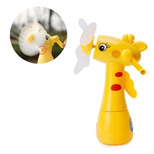 New Mini Handheld Fan Portable Cooler Water Spray Giraffe Air Cooling Humidifier