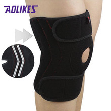 Handise 1PCS Adjustable Basketball Knee Pad Knee Support Brace Protector Patella for Running Volleyball Tennis Bike