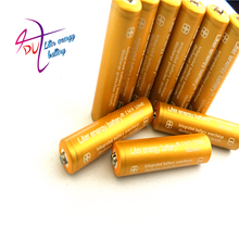 Liter energy battery 2pcs TrustFire 3.7V 380mAh High Capacity 10440 Li-ion Rechargeable Battery for LED Flashlights Headlamps