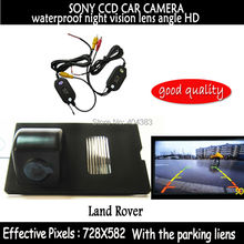 wireless AUTO PARKING CAR CAMERA SONY CCD Chip Car Rea View Reverse CAMERA for Land Rover Discovery Range Rover Sport Freelander