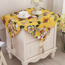 Europe style cotton table cloth rural flowers table cloth pastoral table cloth 4 colors free shipping(China)