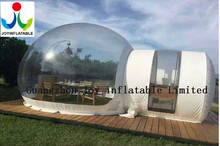 6X8M high quality low price transparent inflatable tent inflatable lawn tent