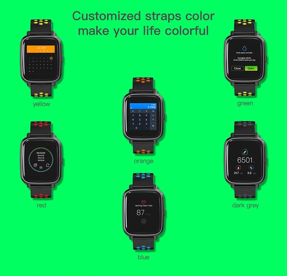 COLMI Smart Watch Heart Rate Monitor IP68 Waterproof Swimming Bracelet Bluetooth Sport Clock for Men Women Smartwatch 014