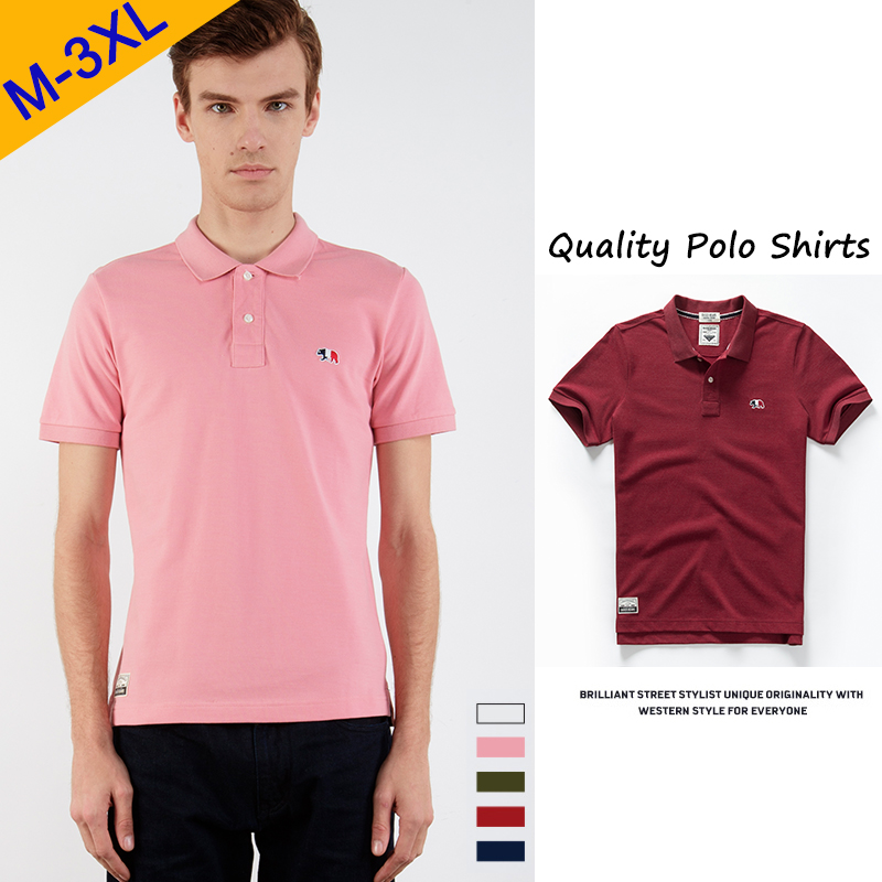 Brand New Polo Shirt Men Summer Dress Cotton Short Hot Sale Golf Male Polo Shirts Boy Plus Size High Quality Clothing Top & Tees