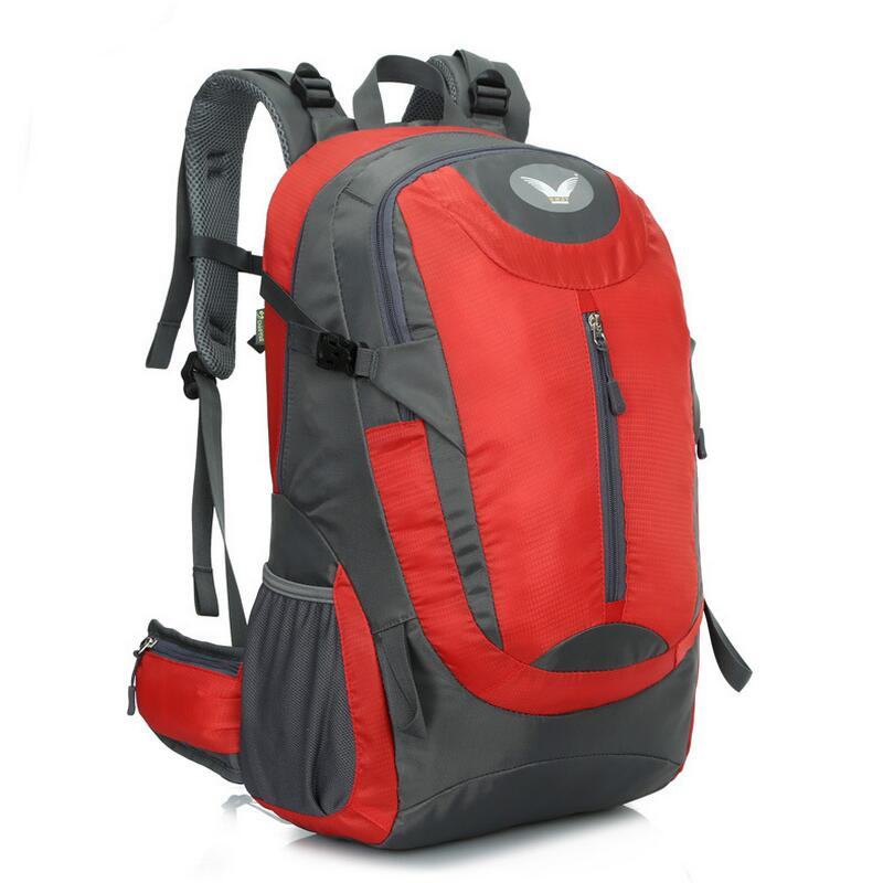 Outdoor mountaineering backpack male female  professional tourism Hiking Backpack 45L Camping sport backpack<br>