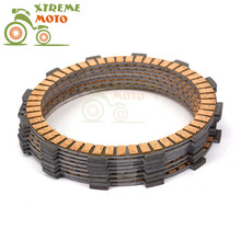 Motorcycle Clutch Disc Friction Plates Set 9pcs for BMW R1200GSW 2013-2015 13 14 15 2013 2014 2015(China)