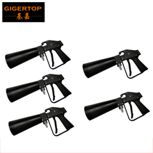 Freeshipping 5 Pack High-quality Gun Pistol Co2 Dj Gun Stage Equipment Light Weight Portable Design Club/Party Cooling Gas Jet