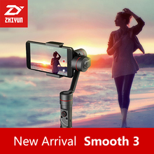 Zhiyun Smooth III Smooth 3 3 Axis Handheld Gimbal  for Smartphones For IPhone 7 6 Plus 6 5S 5C Samsung S 6 5 4 3 Gopro 3 4