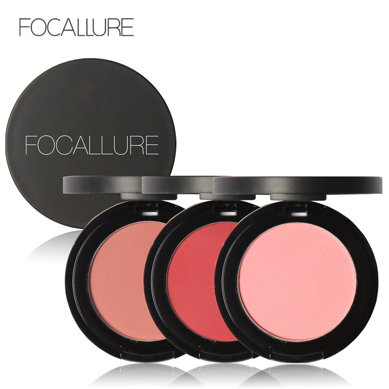 Focallure Face Blush Makeup Palette Natural Pressed 11 Colors Blusher Powder Women Professional Face Brand Beauty Cosmetics(China)