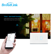Broadlink Rm Mini 3 Universal Wifi/IR Remote Controller+TC2 US Wifi Light Switch Via Rm2 Pro Smart Home Automation Ios Android