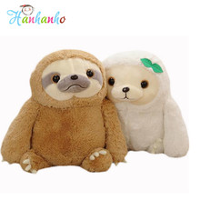 New Kawaii Sloth Flash Plush Toy Giant Anime Soft Stuffed Animal Judy Rabbit Movie Film Doll Gift For Children(China)