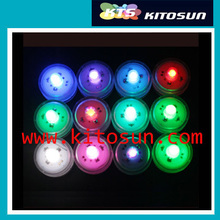 wedding decoration  120pcs/lot Waterproof Underwater Battery Powered Submersible LED Tea Lights Candle string lights