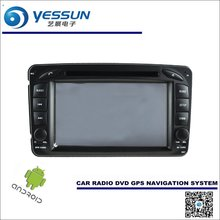 Car Android Navigation System For Mercedes Benz A Class W168 A140 A190 A210 - Radio Stereo CD DVD Player GPS Navi Multimedia