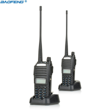 2PCS New Portable Radio Walkie Talkie Baofeng UV-82 With Earphone Button CB Ham Radio Vhf Uhf Dual Band Baofeng UV 82 UV82(China)
