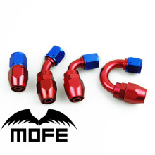 Buy MOFE Universal AN6 Aluminum Swivel Hose End Oil Fuel Fitting Blue&Red Oil Cooler Adapter Kits Honda Civic EK3 B16 B16A B16 for $54.60 in AliExpress store