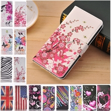 Fashion Retro Leather Flip Wallet Soft Case For Samsung Galaxy Ace 3 III Ace3 gt S7270 S7272 FLower Butterfly Fundas Cover Cases