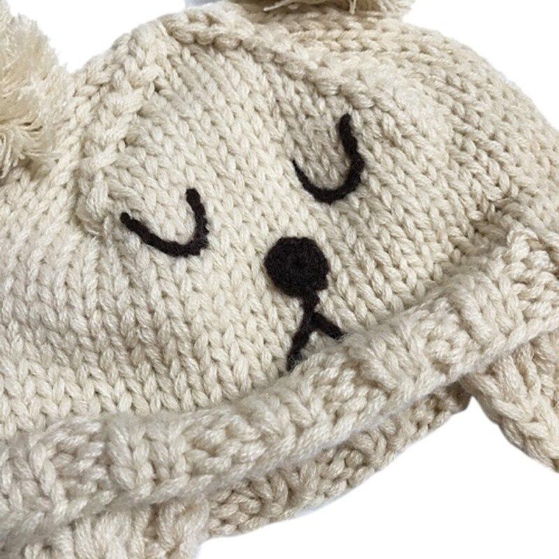Compre Bebé Invierno Cálido Sombreros Niño Niños Niño Gorras Oído ...