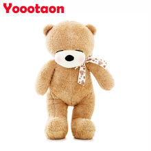 Kwaii 80cm New Teddy bear with scarves for children girls gifts Soft Stuffed Animals dolls Plush bear toys