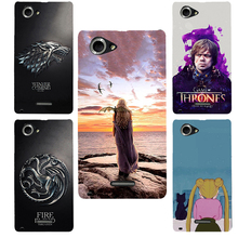 Buy sony xperia c2105 Game Thrones hard PC Phone cover Case sony xperia l s36h c2105 c2104 Case Fundas Capa Coque Shell for $2.27 in AliExpress store