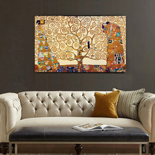 Artists Gustav Klimt Works  The Tree Of Life wall pictures for living room the paintings canvas painting  canvas prints decorati