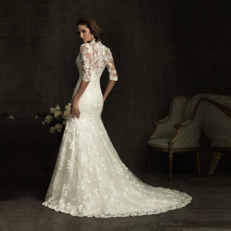 Online Buy Wholesale lace wedding dress from China lace wedding