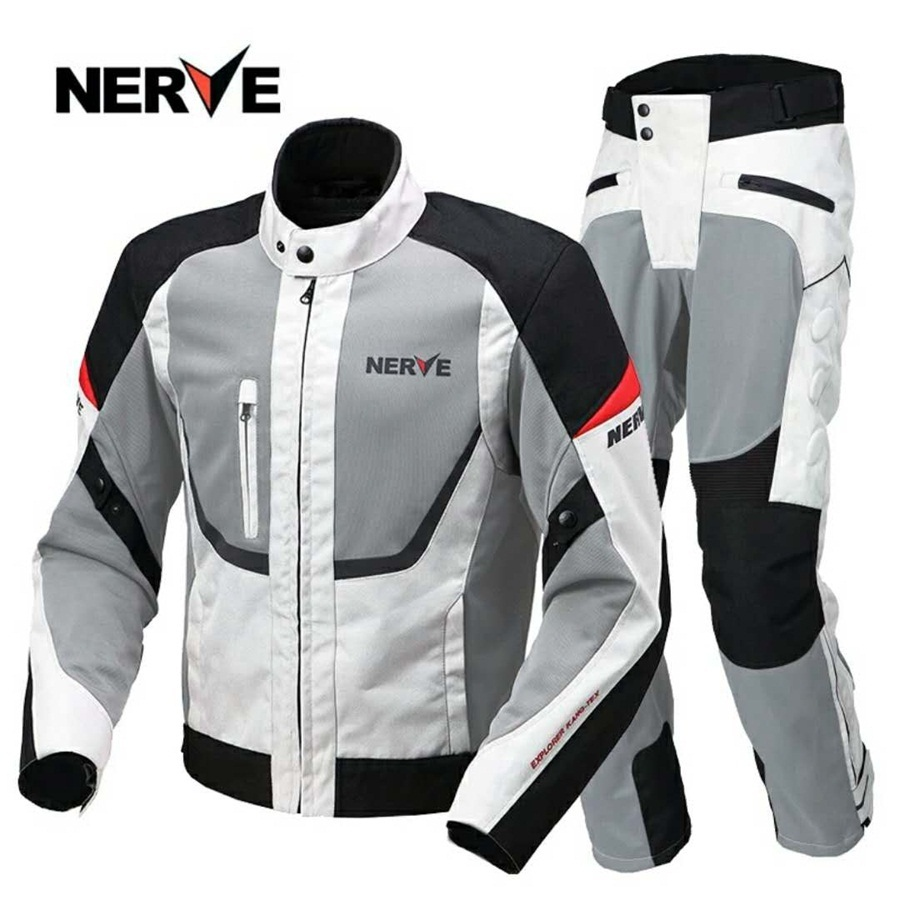 Full Black Motorbike Motorcycle Summer Jacket Hot Weather Gears Coats Cordura Fabric CE Approved Armoured