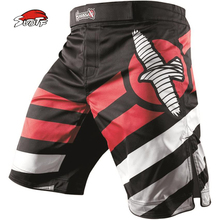 SUOTF Tiger Muay Thai Fightwear Elevate Cheap MMA Kick Boxing Fight Trunks Top New Black MMA Shorts Mens Boxing kickboxing