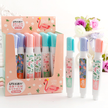Forest Paradise Series Correction fluid Enthusiastic flamingo pattern Practical office and student stationery.